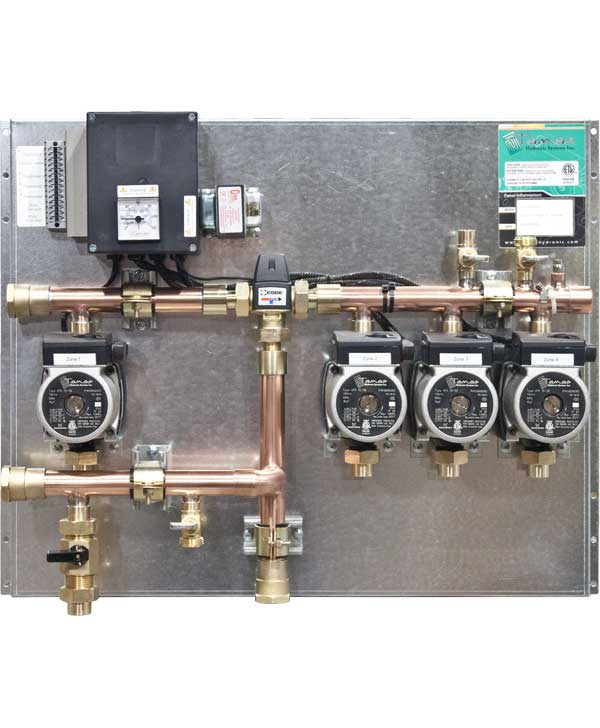 High/Low Temperature Combination Panel